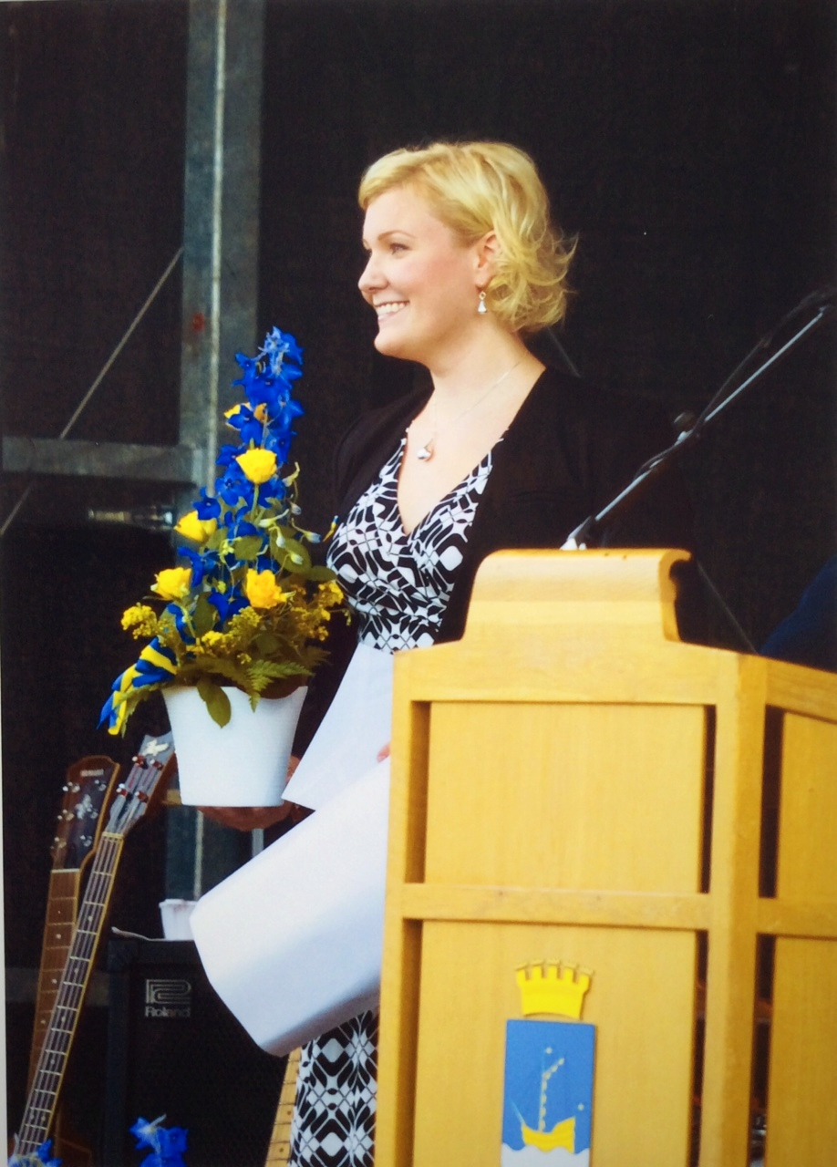 Anna K. Larson, Vocalist, Lyricist, Sweden